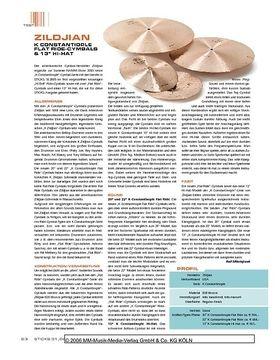 """Zildjian K Constantinople Flat Ride Cymbals & 13"""" Hi-Hat"""
