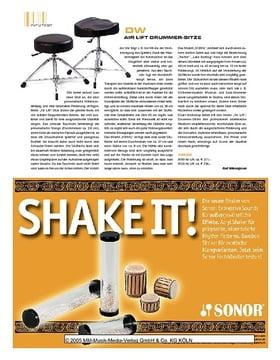 DW Air Lift Drummer-Sitze