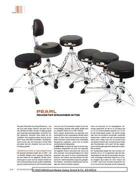 Pearl Roadster Drummer-Sitze
