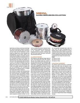 Meinl Samba Percussion Collection