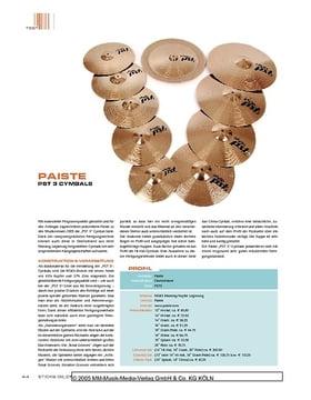 Paiste PST 3 Cymbals