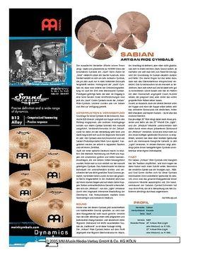 Sabian Artisan Ride Cymbals
