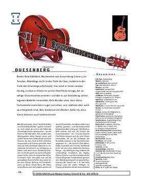 Duesenberg Imperial, Archtop-E-Gitarre