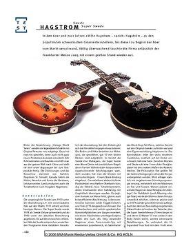 Hagstrom Swede & Super Swede, E-Gitarren