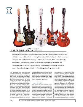 12-string E-Gitarren im Vergleich