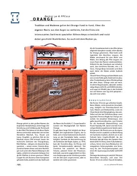 Orange Rocker 30 & PPC212, Quarterstack