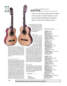 Ortega R-121-1/2 & -3/4, Konzertgitarren