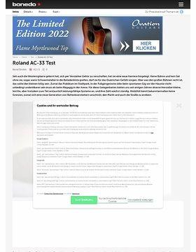 Roland AC-33 Acoustic-Combo