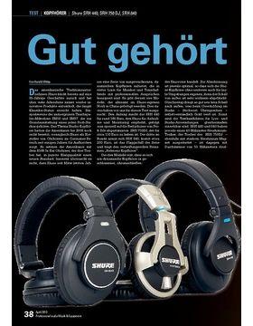 Shure SRH 440, SRH 750 DJ, SRH 840