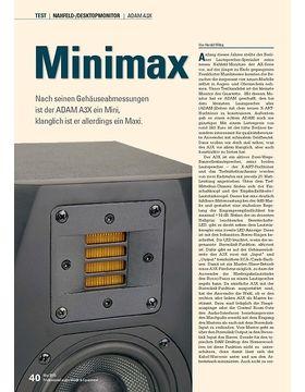Minimax: ADAM A3X