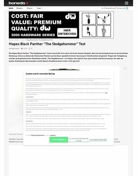 Mapex Black Panther The Sledgehammer