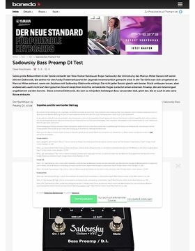 Sadowsky Bass-Preamp DI