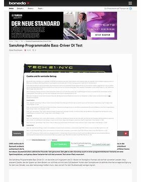 Tech21 SansAmp Bass-Driver DI
