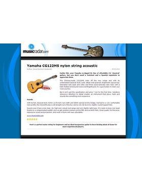 Yamaha CG122MS nylon string acoustic
