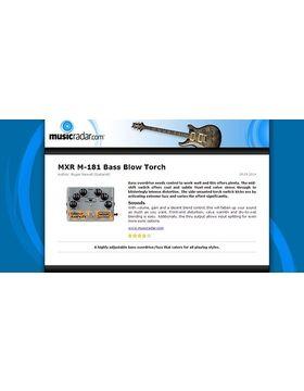 MXR M-181 Bass Blow Torch