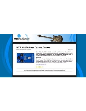 MXR M-228 Bass Octave Deluxe