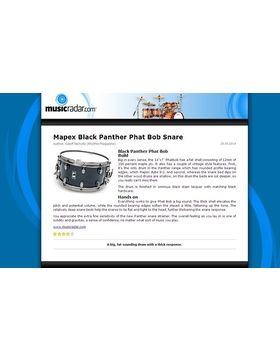 """14""""x07"""" Phatbob Snare Drum"""