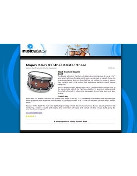 Mapex Black Panther Blaster Snare