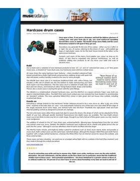 Hardcase drum cases