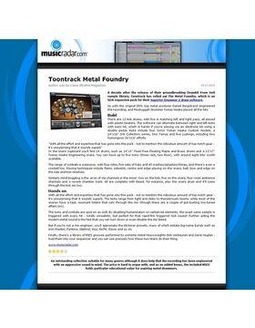 Toontrack Metal Foundry