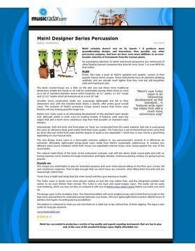 Meinl Designer Series Percussion