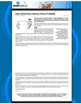 Pearl Eliminator Demon Drive P-3002D