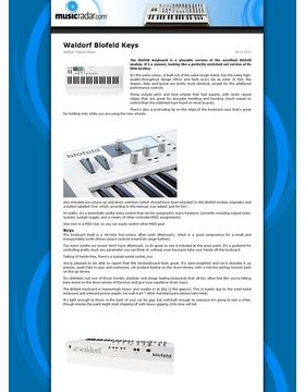 Blofeld Keyboard