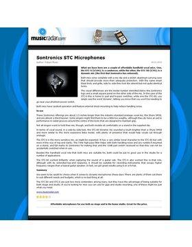 Sontronics STC Microphones