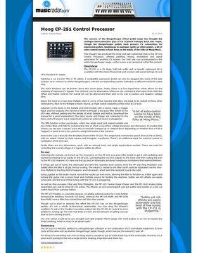 Moog CP-251 Control Processor