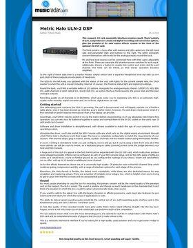 Metric Halo ULN-2 DSP