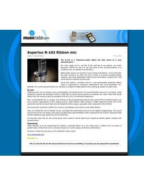 Superlux R-102 Ribbon mic