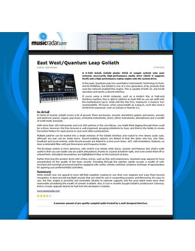East West/Quantum Leap Goliath
