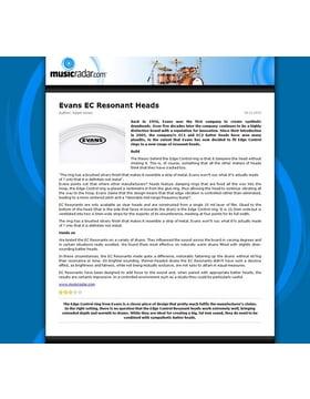 Evans EC Resonant Heads