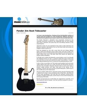 Fender Jim Root Telecaster