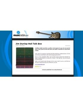 Jim Dunlop Heil Talk Box