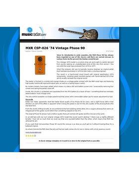 MXR CSP-026 '74 Vintage Phase 90
