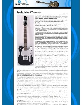 Fender John 5 Telecaster
