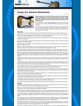 Fender Eric Johnson Stratocaster