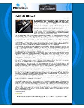 5150 III 50 Watt Head BK