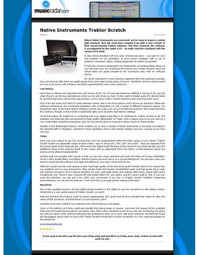 Traktor Scratch Control CD MKI