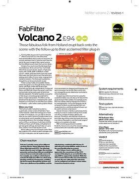 Fab Filter Volcano 2
