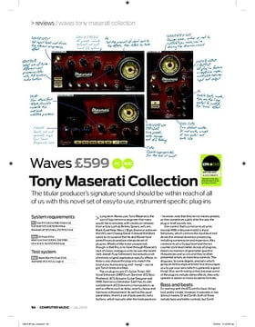 Tony Maserati Collection