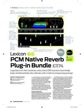Lexicon PCM Native Reverb Plugin Bundle