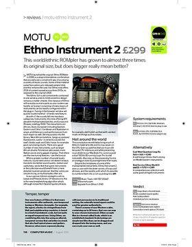 MOTU Ethno Instrument 2