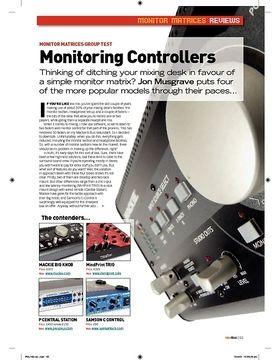 Monitoring Controllers  Mackie Big Knob
