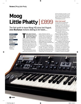 Moog Little Phatty