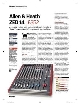 Allen and Heath ZED 14