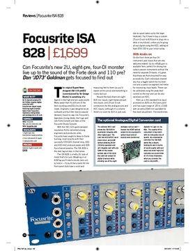Focusrite ISA 828