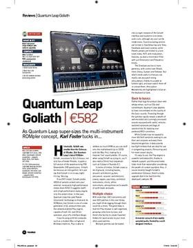 Quantum Leap Goliath