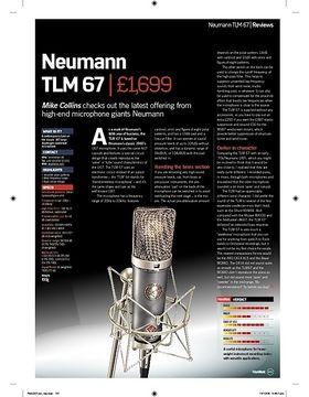 Neumann TLM 67